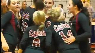 preview picture of video 'CONCORDIA BEATS DWENGER IN VOLLEYBALL FOR SAC TITLE'