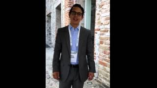 Andres Delgado da un mensaje desde Puebla, México
