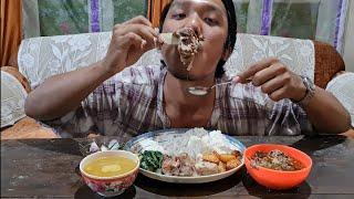 Vawksa rep leh Bawngsa chhum ||Beef & pork stew