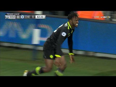 Batshuayi scores Premier League title-clinching goal for Chelsea