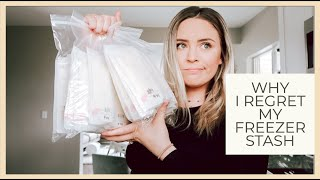 Why I Regret Pumping & Building A Freezer Stash Of Breastmilk | Vlog & Day In The Life