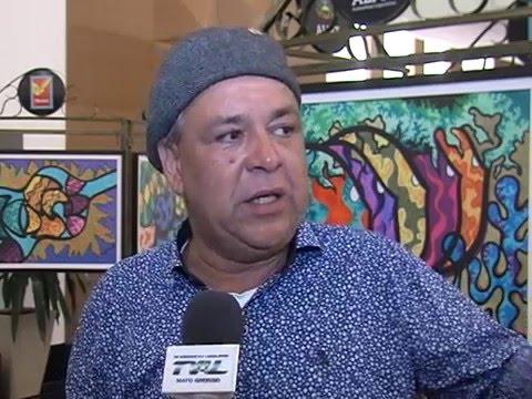 Narbal Guerreiro apresenta suas obras em exposição na ALMT