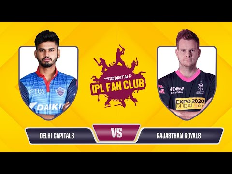 Fantasy League | Dream 11 Team Today | IPL Fan Club - DC vs RR