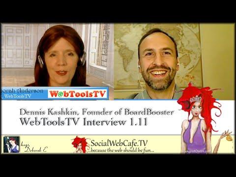 BoardBooster: Founder Dennis Kashkin * WTTV 1.10