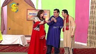 Zafri Khan and Nasir Chinyoti Muhabbat CNG 4 Stage Drama Clip