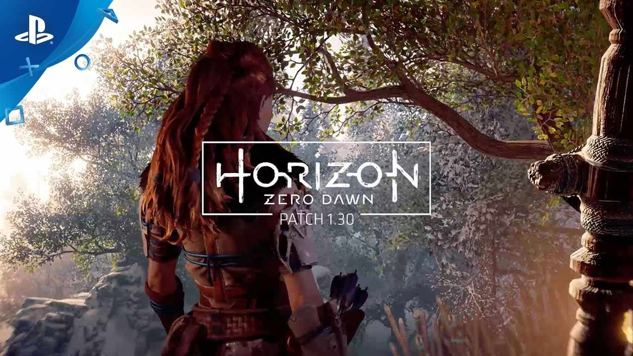Horizon Zero Dawn Patch 1.30 Adds New Game+, Face Paint Options, Ultra Hard Difficulty, More