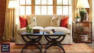 Small Loveseat: Ideal Small Sofas For Small Spaces