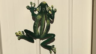 Metal Art - Make A Steel Frog