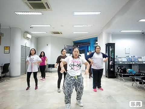 BRI KC Gunung Sahari - Zumba with ZIN Yuni Lopez (Choreography by YUNI LOPEZ)