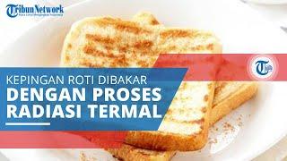 Toast, Kepingan Roti yang Dibakar atau Dipanggang dengan Proses Radiasi Termal