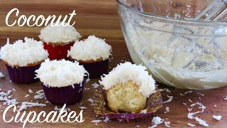 Coconut Cupcakes | The Frugal Chef