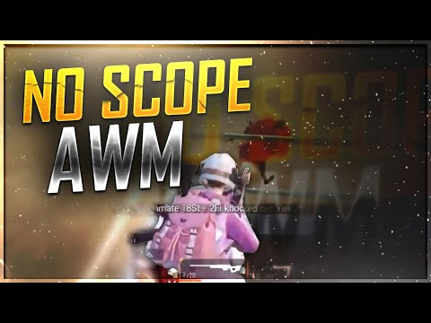 BEST JUMPING NO SCOPE EVER !! | PUBG MOBILE