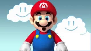 Марио против Слендера!