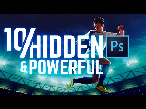 Learn 10 Essential, Advanced Photoshop Features From This Video