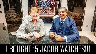 I BOUGHT 15 JACOB & CO WATCHES!!!