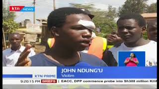 Police Crackdown: Police operation in Kawangware leaves tens injured, one in critical condition