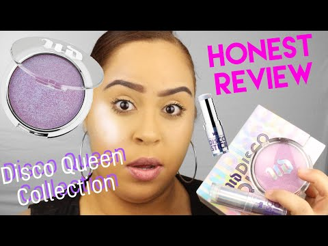 Urban Decay Disco Queen Collection honest review