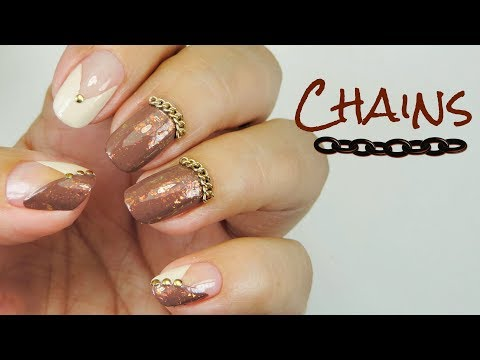 Nail Art - CHAINS - Linda165