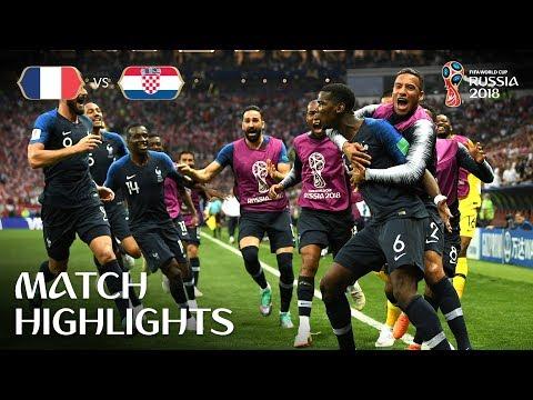 உலக கிண்ண கால்பந்து போட்டிகளின் இறுதிப்போட்டி 2019#WorldCup 2018 WORLD CUP FINAL: France 42 Croatia