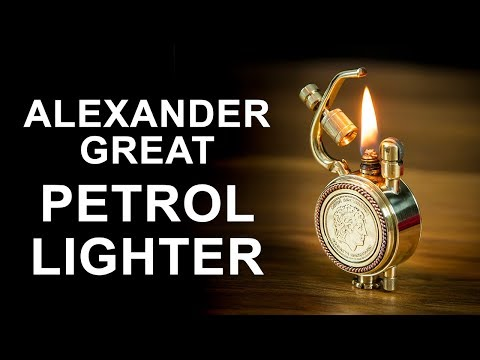 Alexander the Great Petrol Lighter