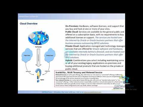 Fusion Financials General Ledger Training - Day 1 - YouTube