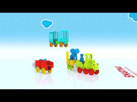 Youtube Video for My First ANIMAL TRAIN - Magnetic Fun