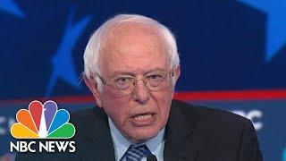 Bernie Sanders Mike Bloomberg Joe Biden Spar Over Democratic Socialism