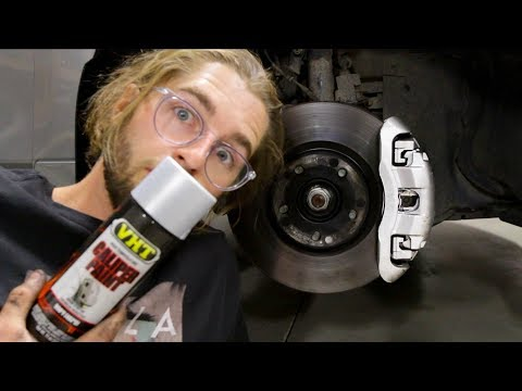 How to Paint Brake Calipers Any Color Easy!! DIY