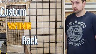 DIY Custom Wine Rack