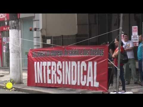Greve dos Bancários paralisa 90% das Agências de Santos e 70% da Baixada.
