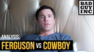 There was no bad guy: Ferguson vs Cowboy