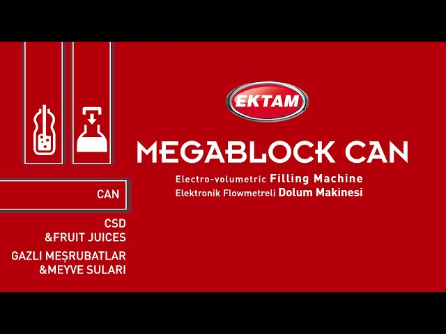 MEGABLOCK CAN - Filling Machine (CSD & FJ)