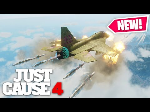 Just Cause 4 - MOST POWERFUL JET EVER MADE!