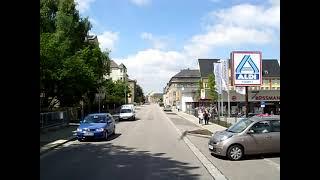 preview picture of video 'Ortsdurchfahrt von Burgstädt mit dem Brummi'