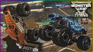 10 Truck Detroit Freestyle! | Monster Jam Steel Titans
