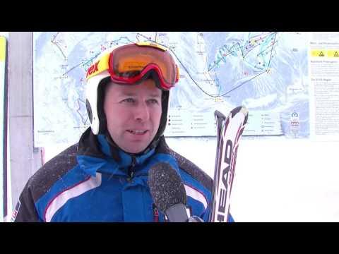 Silvretta Montafon - erster Skitag Wintersaison 2015/16
