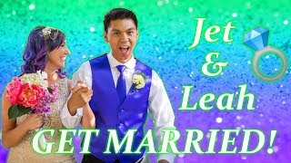 Jet DesertFox & Unicorn Leah Get Married
