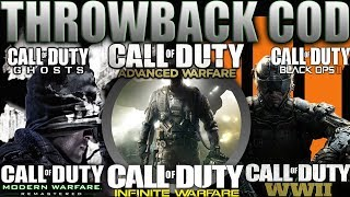 THROWBACK COD Gameplay 😈 BO3, COD WWII, GHOSTS, MWR, AW and INFINITE WARFARE  in 2019