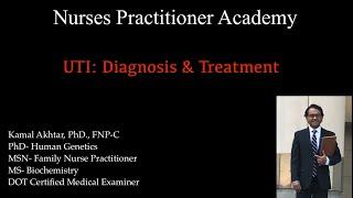 UTI: Diagnosis and Treatment
