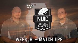 Week 8   Match Ups