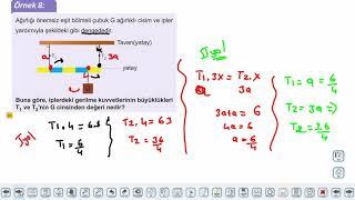 Eğitim Vadisi AYT Fizik 6.Föy Kuvvet ve Hareket 2 Konu Anlatım Videoları