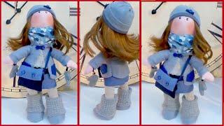 DIY Crafts: Gorjuss Rag Doll Tutorial Easy CRAFT - Handmade - Youtube - Isa ❤️