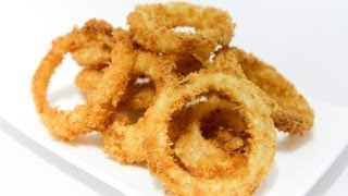 How To Make Crispy  Crunchy Onion Rings – Video Recipe