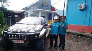Mobil Listrik Kasuari Jelajahi Kalimantan Tengah dan Selatan