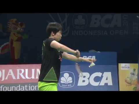 BCA Indonesia Open 2017 | Badminton F M5-XD | Zheng/Chen Vs Ahm/Nat