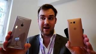 Sony Xperia XZ2 und XZ2 Compact im Hands-On