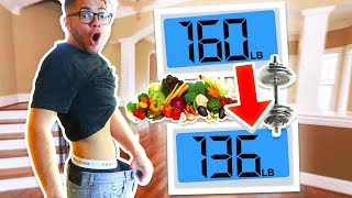How much WEIGHT Can I LOSE In 24 Hours - Challenge!