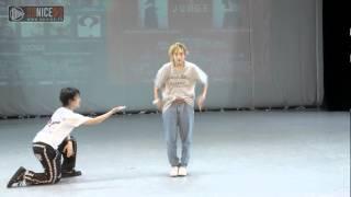 Maika vs Kyoka 决赛 长春 TBA Final FreeStyle U20 20140706
