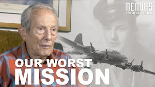 """Our Worst Mission"" WW2 Bomber Gunner 