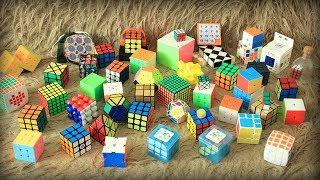 Обзор большой коллекции головоломок (2018)